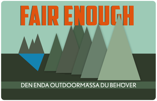 Fair Enough logo utan datum